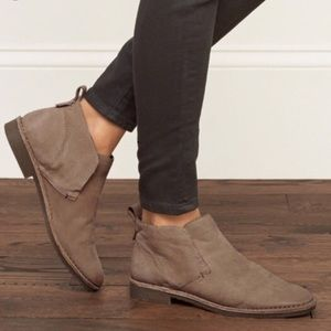 Dolce Vita Findley Tan Nubuck Leather Ankle Boots